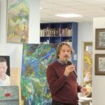 Александр Белугин, заместитель председателя Македонского культурного центра, художник