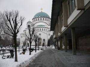 Храм св. Саввы в Белграде