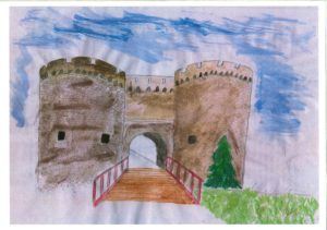 """""""Когда-нибудь я буду в Калемегдане...""""  Тимофей Лугина, 7 лет  (г. Чернигов, Украина)"""